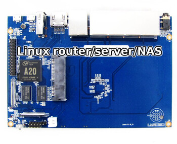 linux server router nas